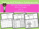 Kg McGraw Hill Wonders Writing Responses and Activity Pages Unit 5