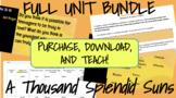 Khaled Hosseini's A Thousand Splendid Suns Unit Bundle
