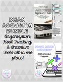 Khan Academy Goal Tracking, Organization, & Incentive Tools BUNDLE!