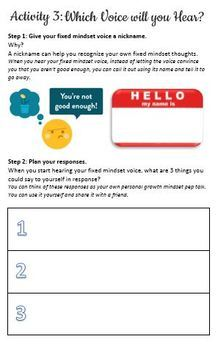 Khan Academy LearnStorm Growth Mindset Activities Booklet