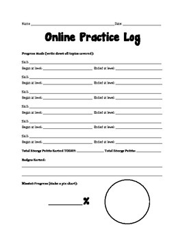 Khan Academy Log