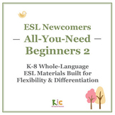 ESL/ELL Beginners Book 2 Bundle