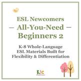 ESL/ELL Beginners Book 2 Bundle