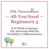 ESL/ELL Beginners Book 3 Bundle