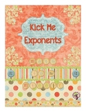 Laws of Exponents - Kick Me Exponents