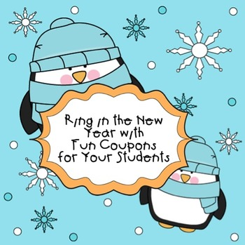 Ring in the New Year With Fun Coupons for Your Students