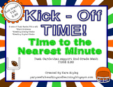 Kick - Off Time!  {2nd Grade Math TEK 2.9G}