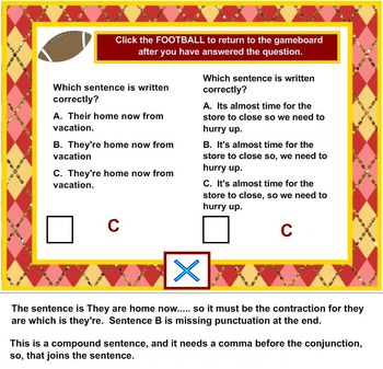 Kick Off To Great Writing - Revise and Edit Writing Game