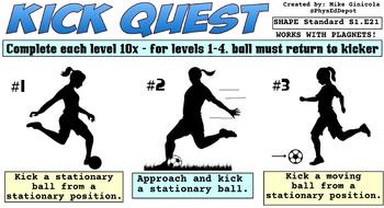 Kick Quest Skill Progression - 8 Levels!