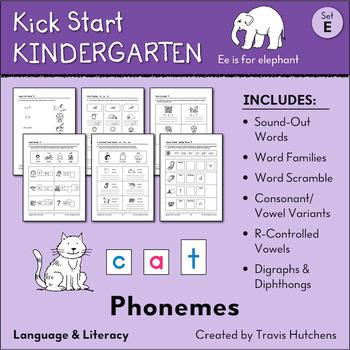 Kick Start Kindergarten – Set E: Phonemes