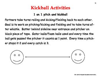 Kickball Activities