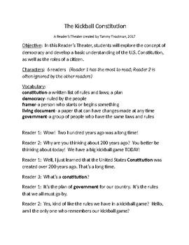 Kickball Constitution