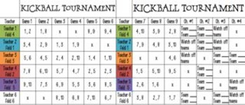 Kickball Tournament