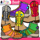 Cowboy and Mountain Boots Clip Art: Wild West Graphics {Glitter Meets Glue}