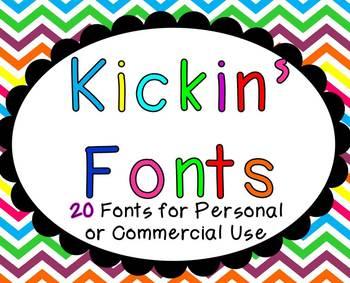 Kickin' Fonts