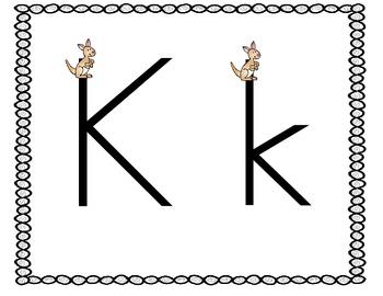 Kickin' Good Fun with Letter Kk:  Kk Activities