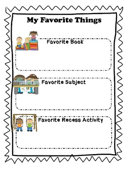 """Memory Book for the End of the Year """"Kickin' It In Kindergarten"""""""
