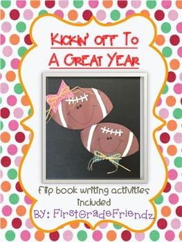 Kickin' Off To A Great Year Football Craftivity