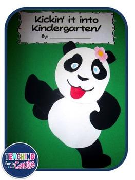 Kickin' it into Kindergarten: A Back to School Keepsake Book