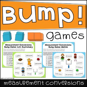 Measurement Conversions Bump Games (U.S. Customary and Metric)
