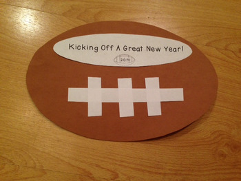 Kickin' off the New Year! (A back to school AND New Years Craftivity)