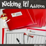 Addition Facts Fluency Program - Kicking It Math Math Fact