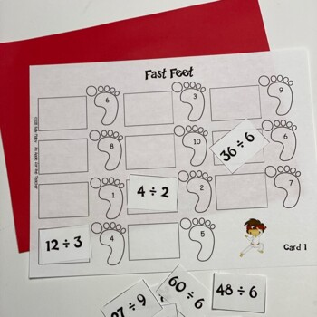 Math Facts - Division Facts Fluency Program - Kicking It Math