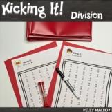 Math Facts Division Facts Fluency Program Kicking It Math