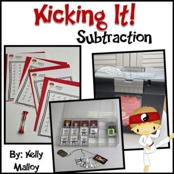 Math Facts - Subtraction Facts Fluency Program - Kicking It Math -