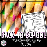 Back to School: Get to Know You Activities