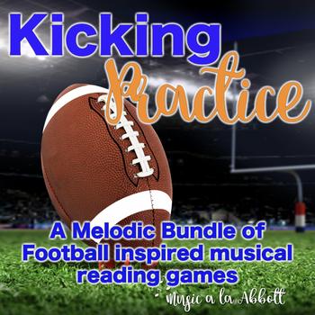 Kicking Practice: Field Goal Inspired Melodic Practice, BUNDLED SET