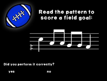 Kicking Practice: Field Goal Inspired Melodic Practice, re in d-r-m-s-l patterns