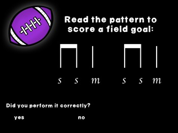 Kicking Practice: Field Goal Inspired Melodic Practice, so-mi