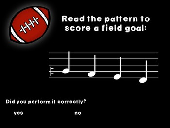 Kicking Practice: Field Goal Inspired Melodic Practice, ti