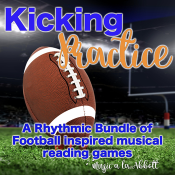Kicking Practice: Field Goal Inspired Rhythmic Practice, BUNDLED SET