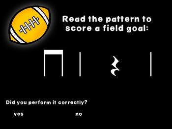 Kicking Practice: Field Goal Inspired Rhythmic Practice, rest