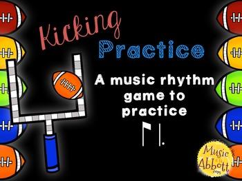 Kicking Practice: Field Goal Inspired Rhythmic Practice, ti-tam