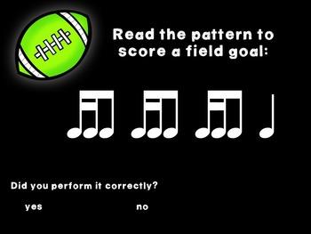 Kicking Practice: Field Goal Inspired Rhythmic Practice, tika-ti