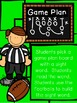 Kicking Up Football Sight Words - Sight Word Building