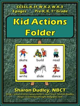 Kid Actions Folder