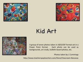 Kid Art Backgrounds