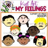 Kid Art | Feelings | KGJ Clipart