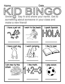 Kid Bingo