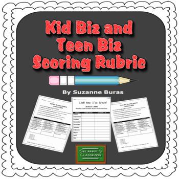 Kid Biz and Teen Biz Scoring Rubrics