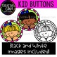 Kid Buttons: Kid Clipart {Creative Clips Clipart}