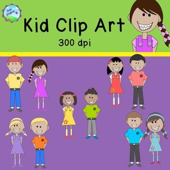 Kid/Children Clip Art - commercial use ok