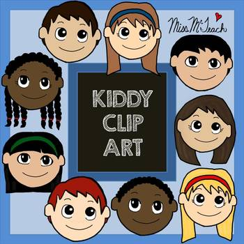 Kid Clip Art ((12 Images)) Personal & Commercial Use