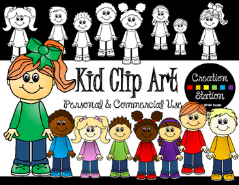 Kid Clip Art (FREE - Limited Time!)