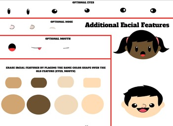 """School Kids Clip-Art Character Creator:""""Like Coloforms for TPT Sellers!"""""""