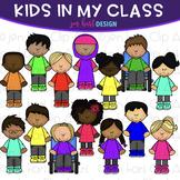 Kid Clip Art - Kids in My Class Clipart {jen hart Clip Art}